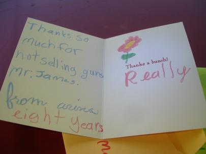 A's card
